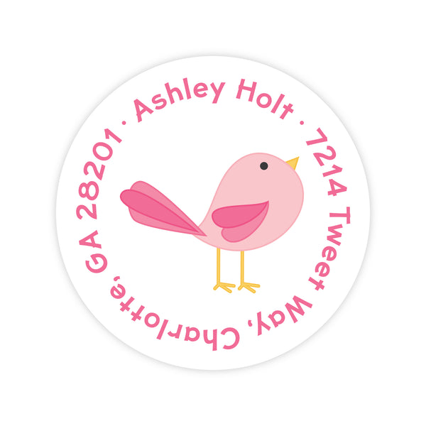 Cute Bird Address Labels