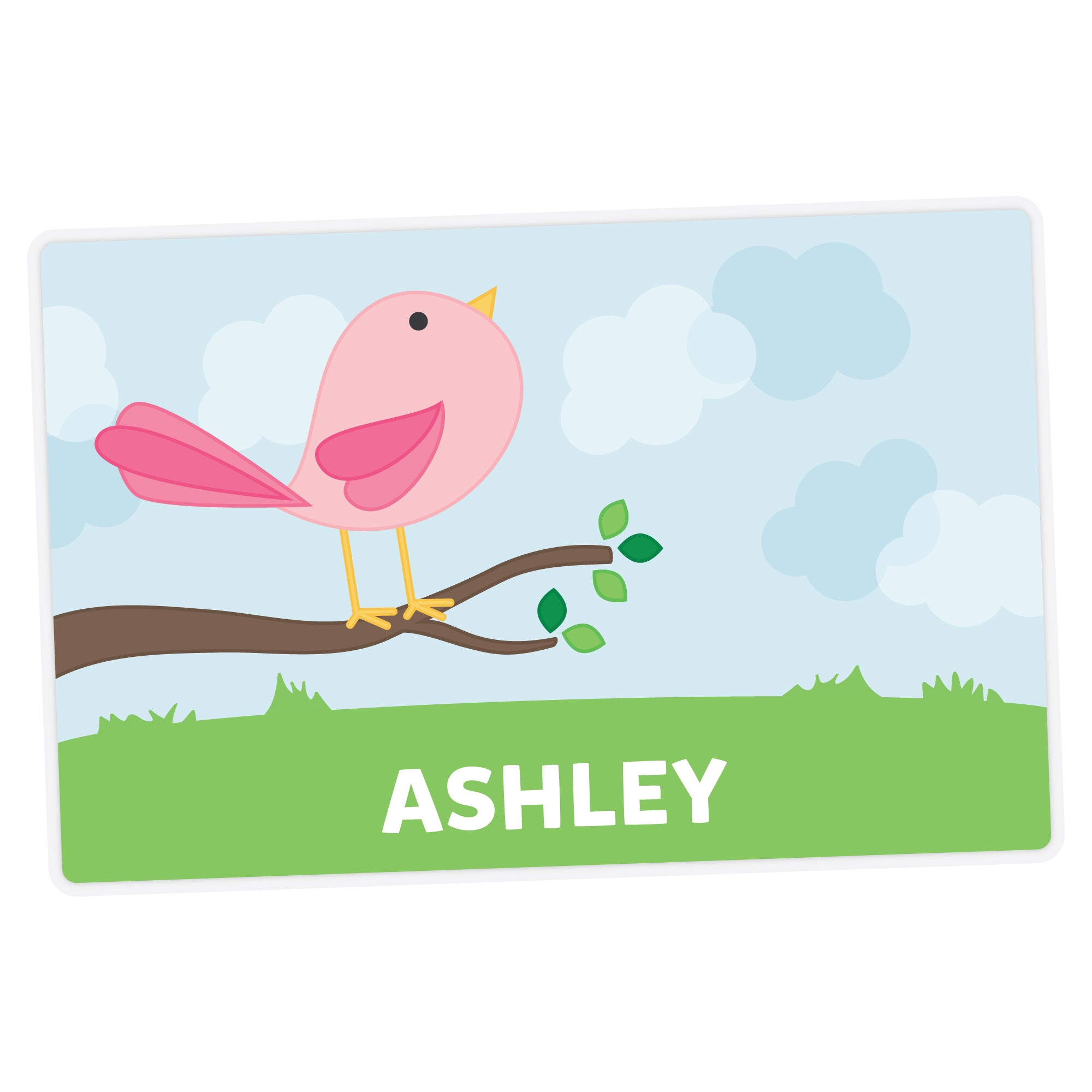 Cute Bird Personalized Placemat
