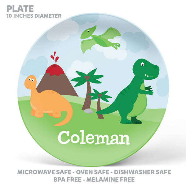 Dinosaur Personalized Mealtime Set