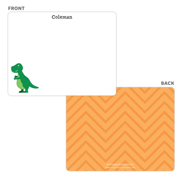 Dinosaur Note Cards - Thank You Cards