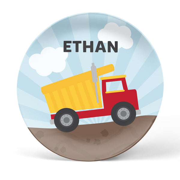 Dump Truck Personalized Plate