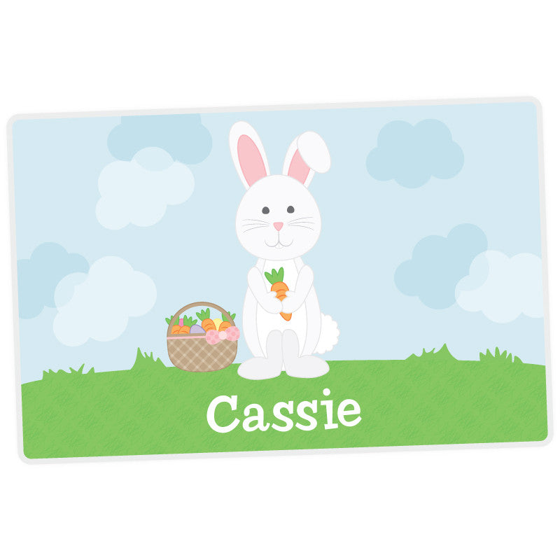 Bunny Personalized Placemat