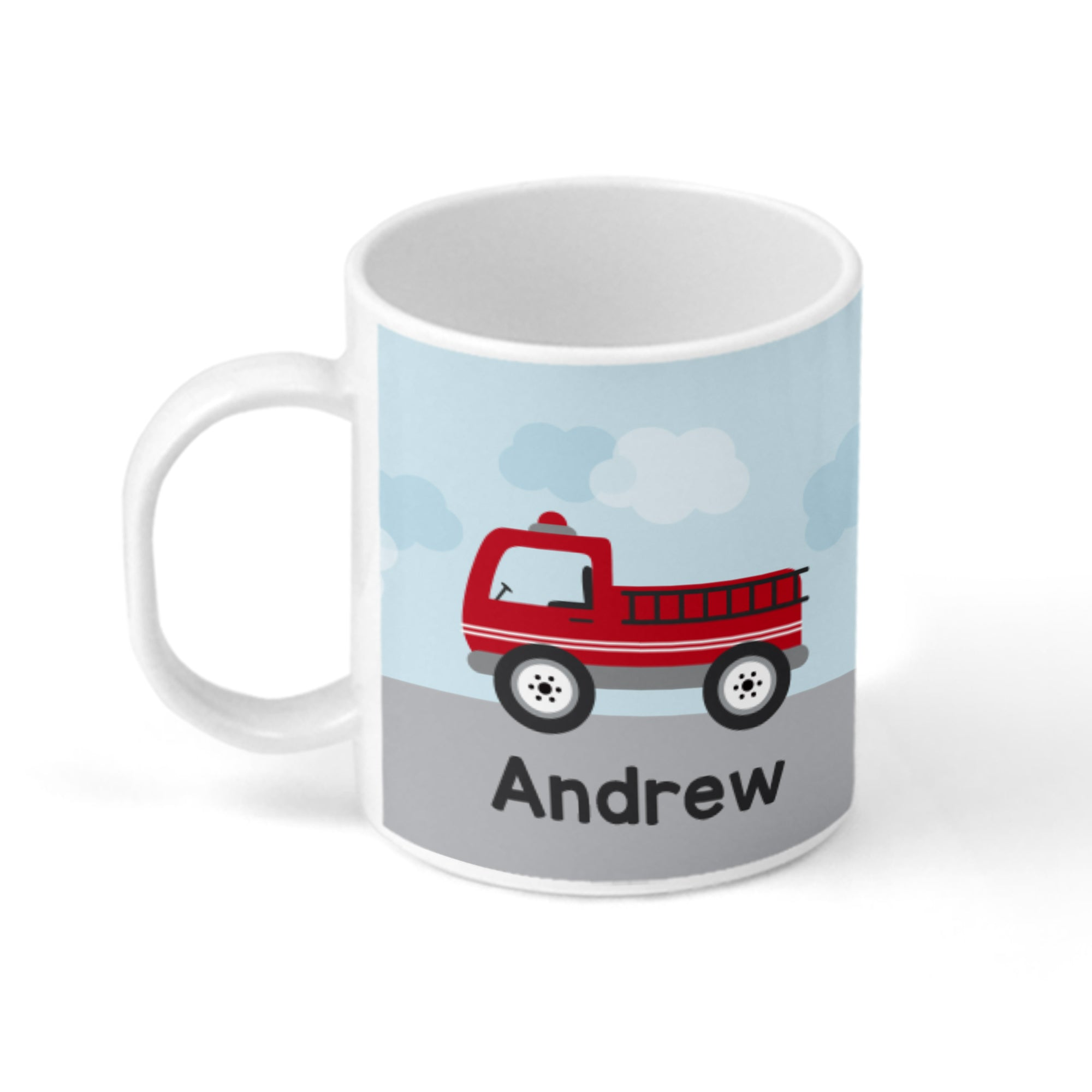 Fire Truck Personalized Mug