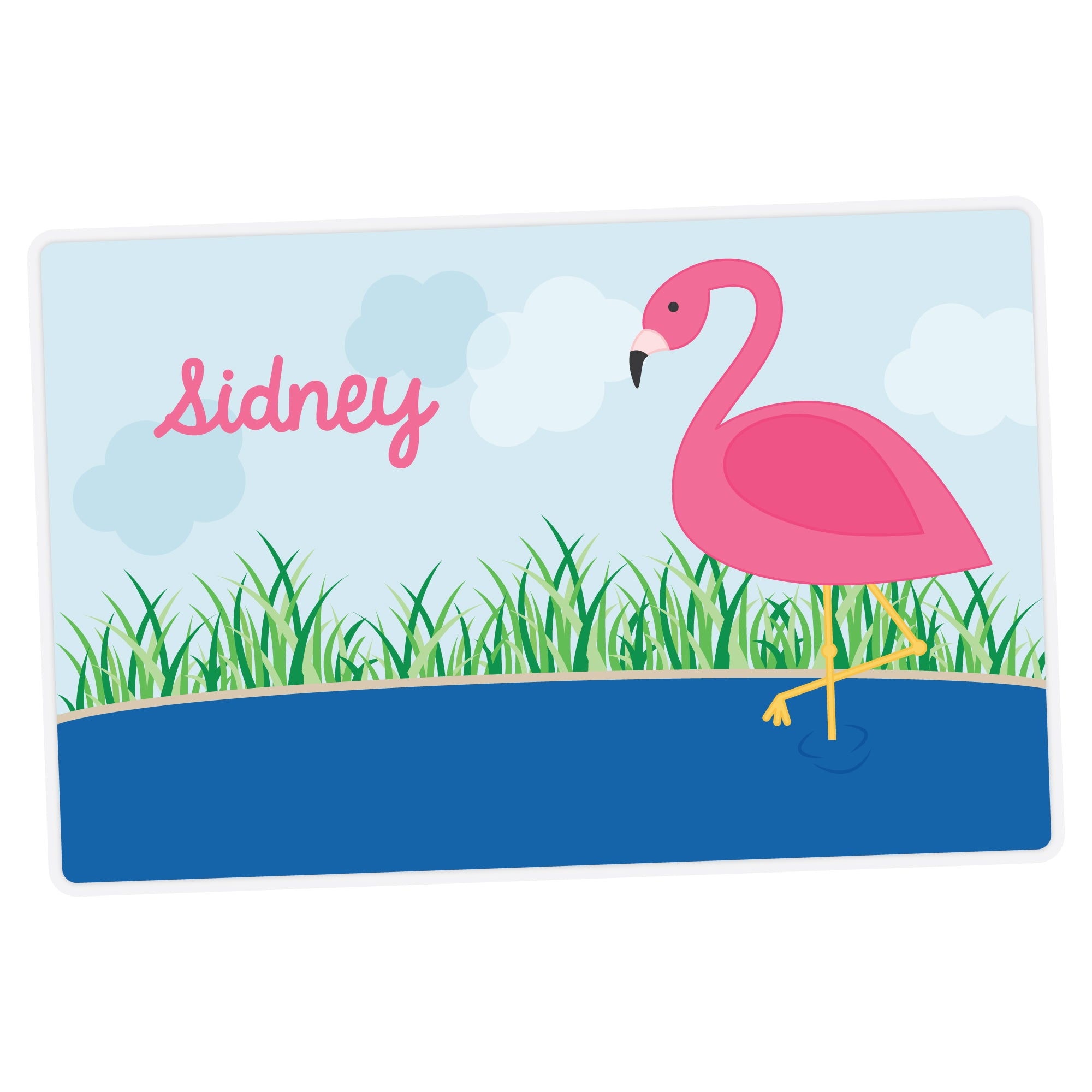 Flamingo Personalized Placemat