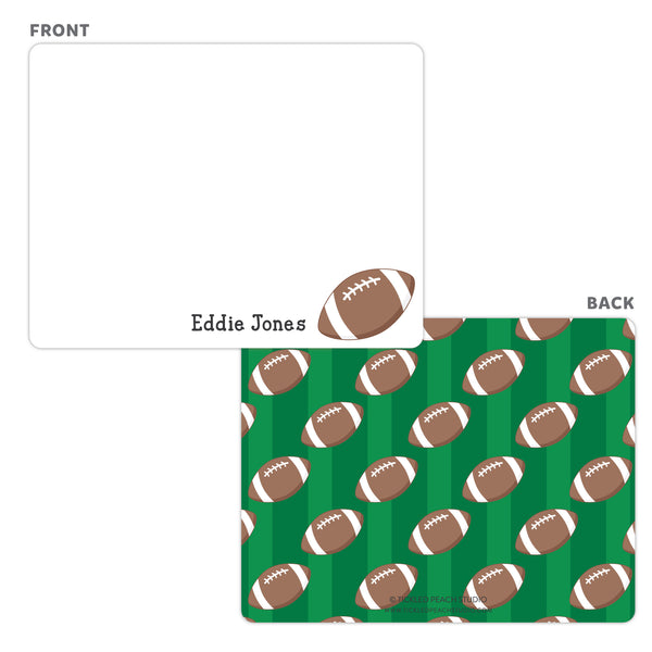 Football Note Cards