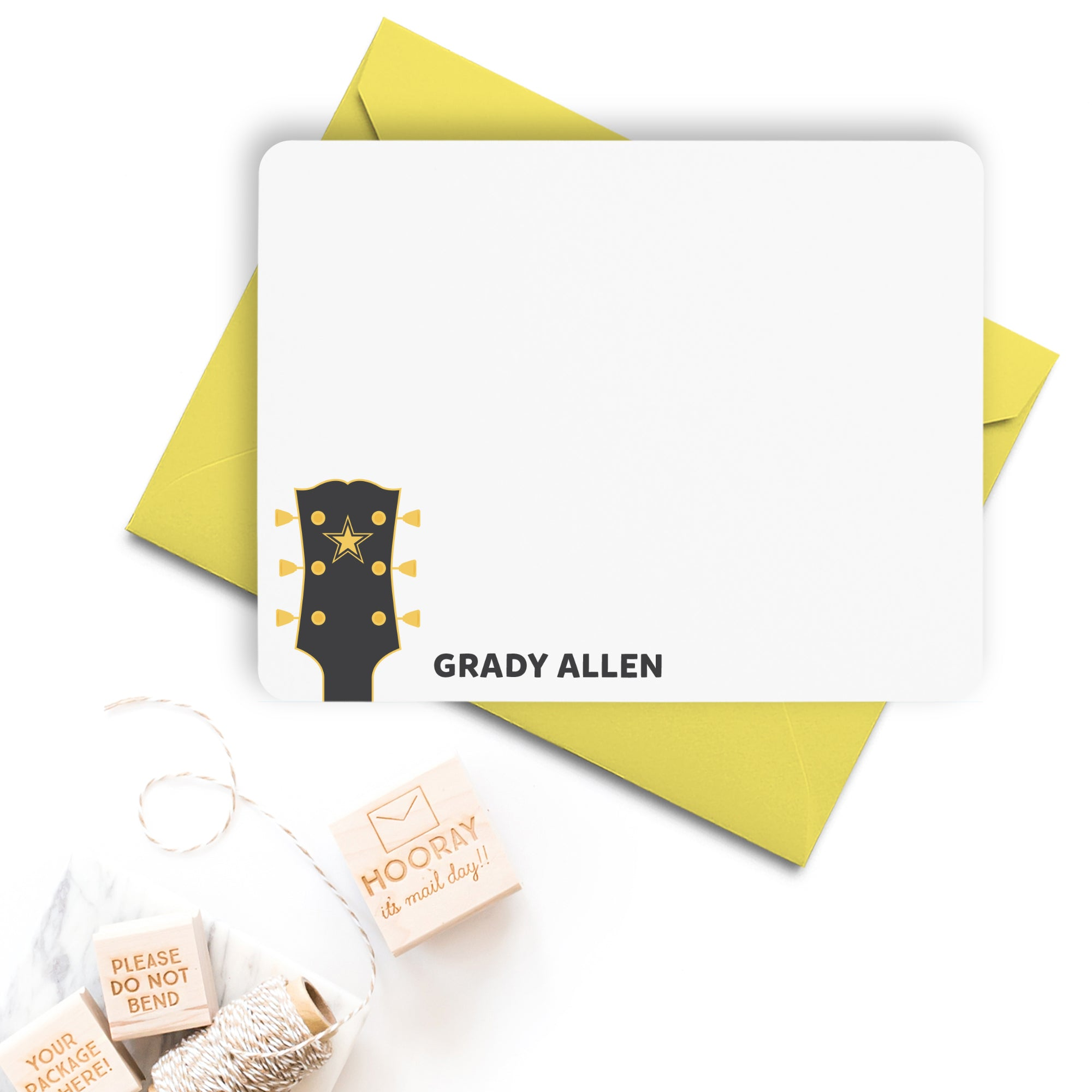 Guitar Note Cards