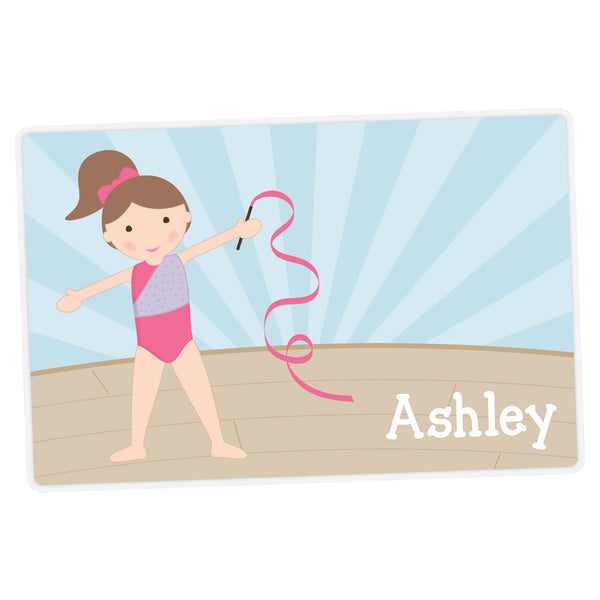 Gymnast Personalized Placemat