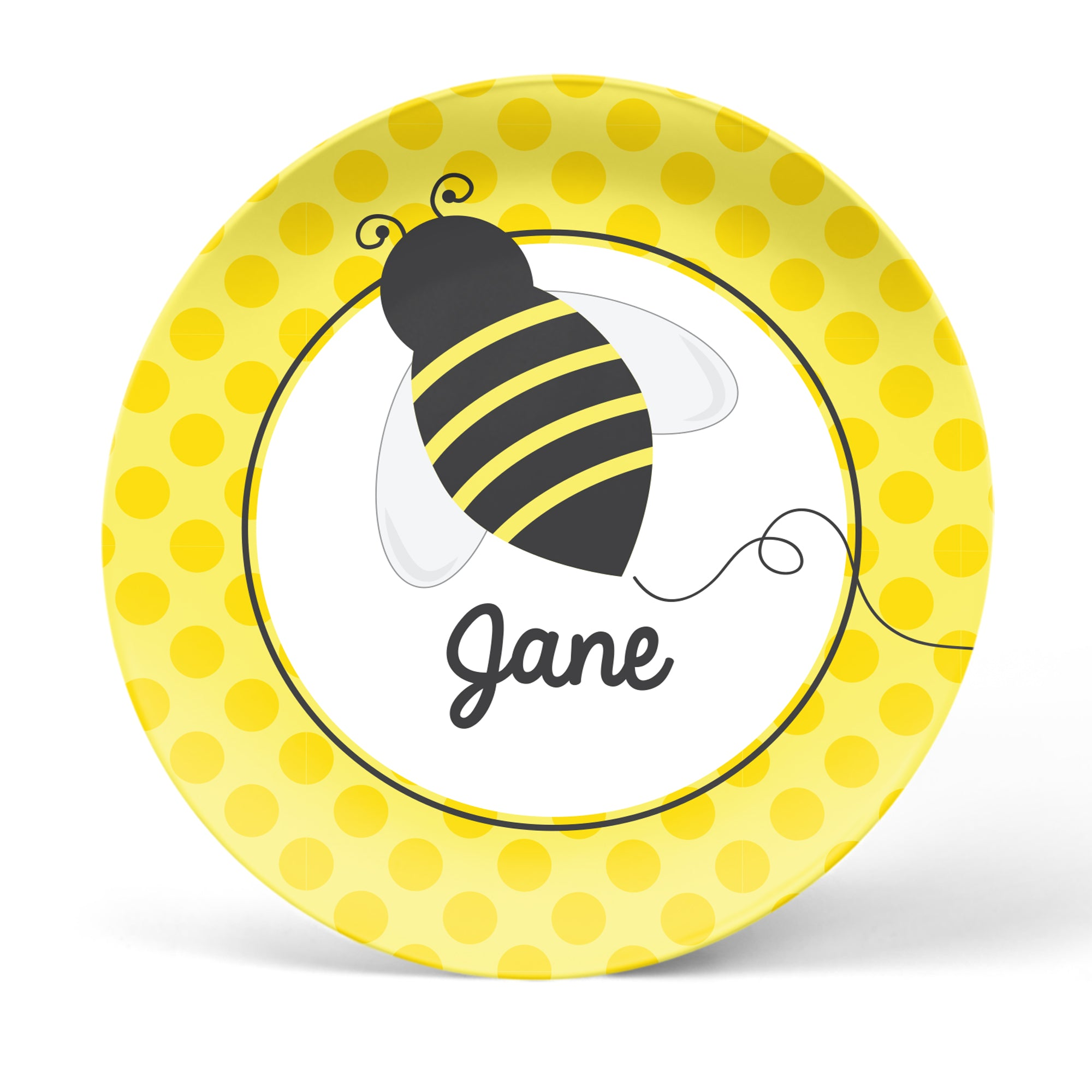 Honey Bee Personalized Plate