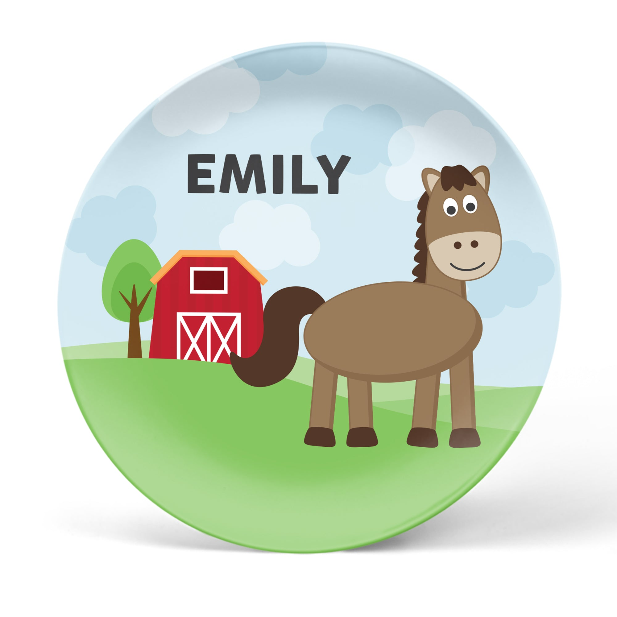 Horse Personalized Plate