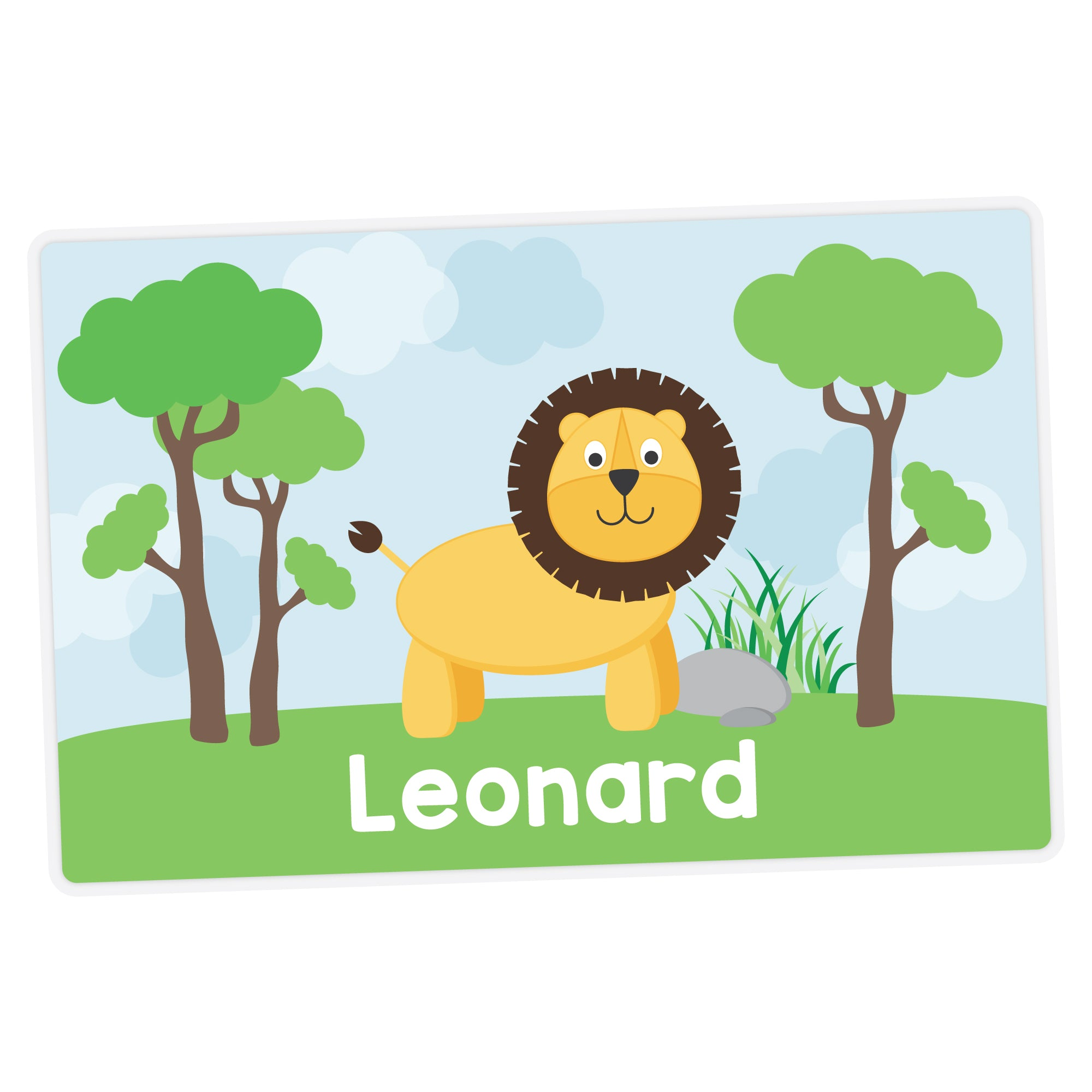 Lion Personalized Placemat