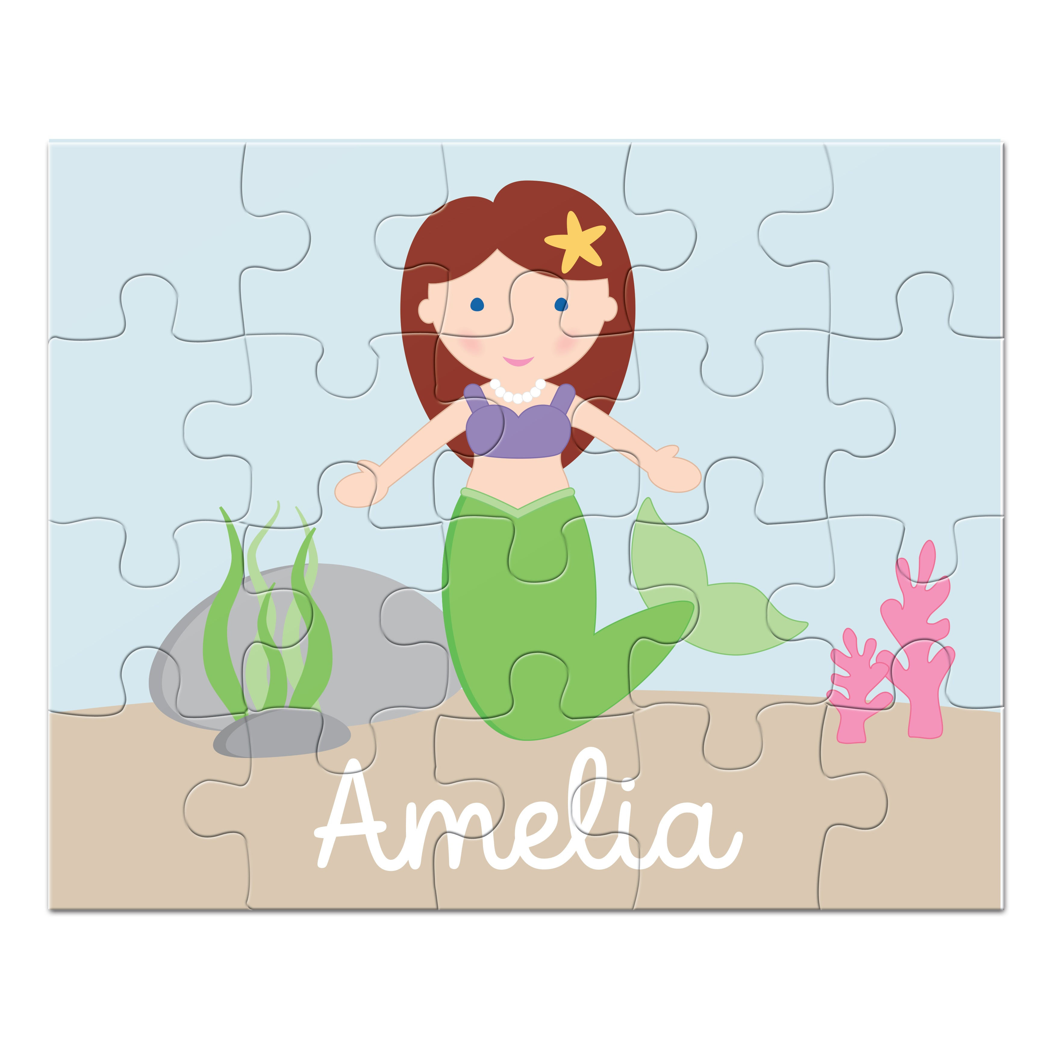 Mermaid Personalized Puzzle