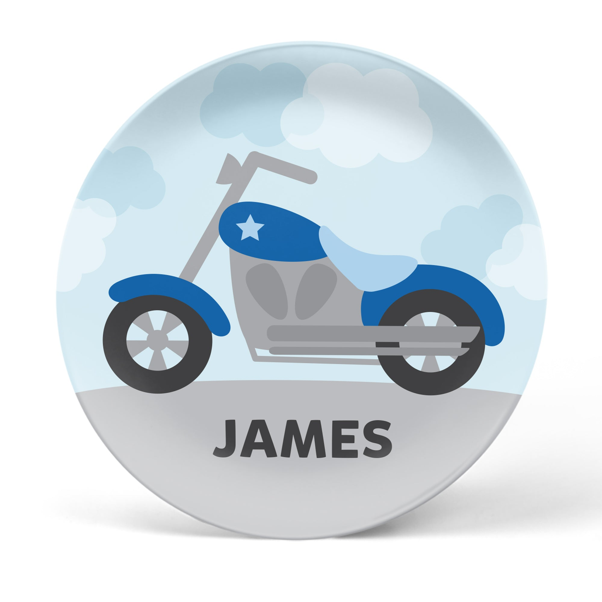 Motorcycle Personalized Plate