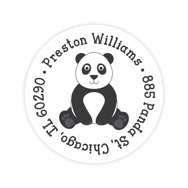 Panda Address Labels