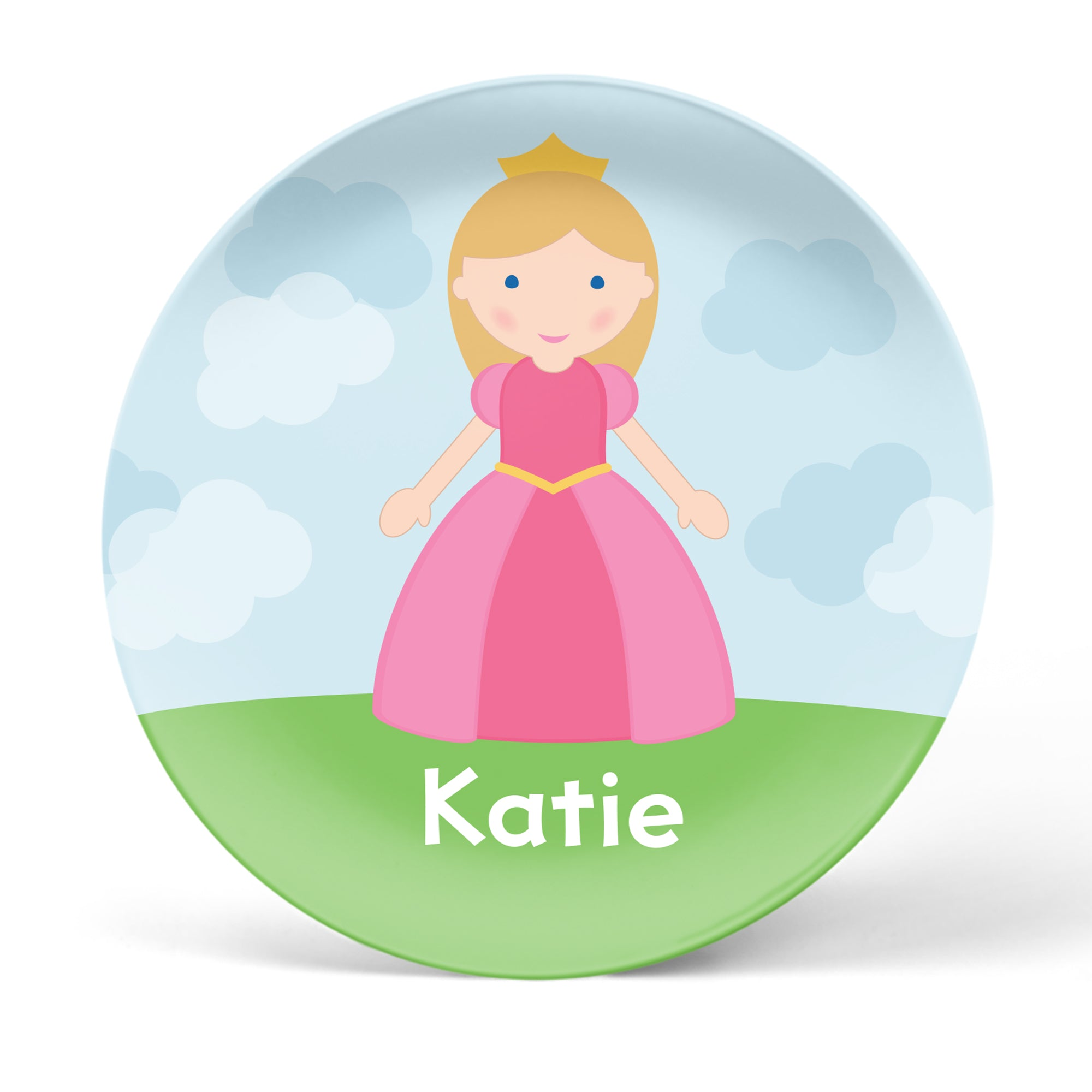 Princess Personalized Plate