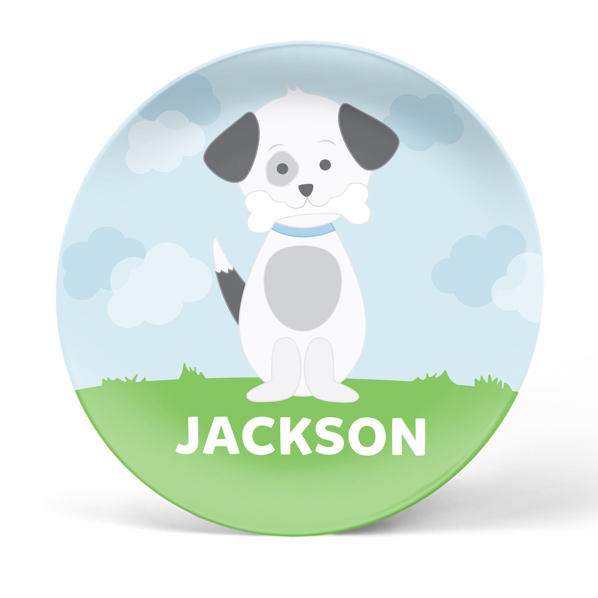 Puppy Personalized Plate