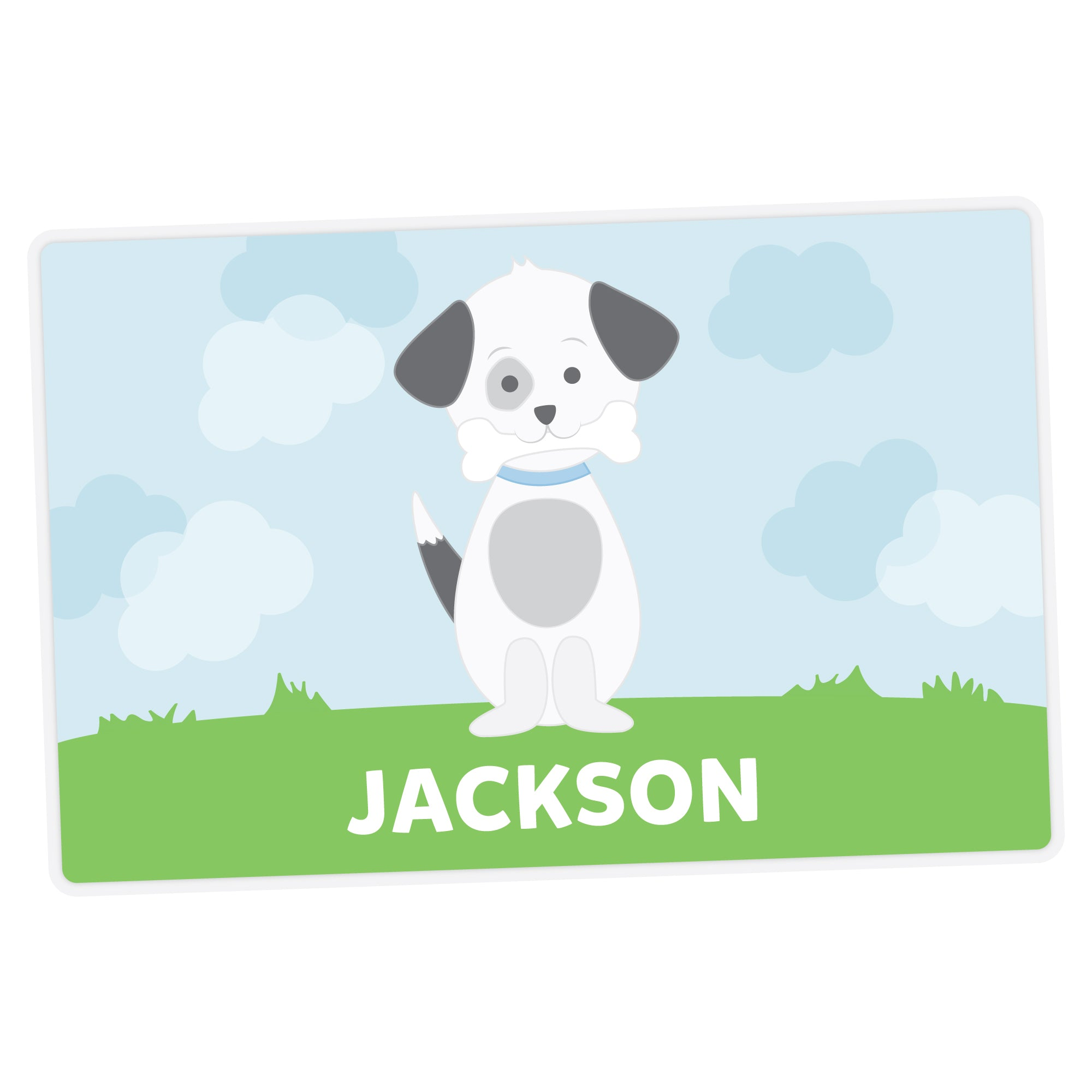 Puppy Personalized Placemat