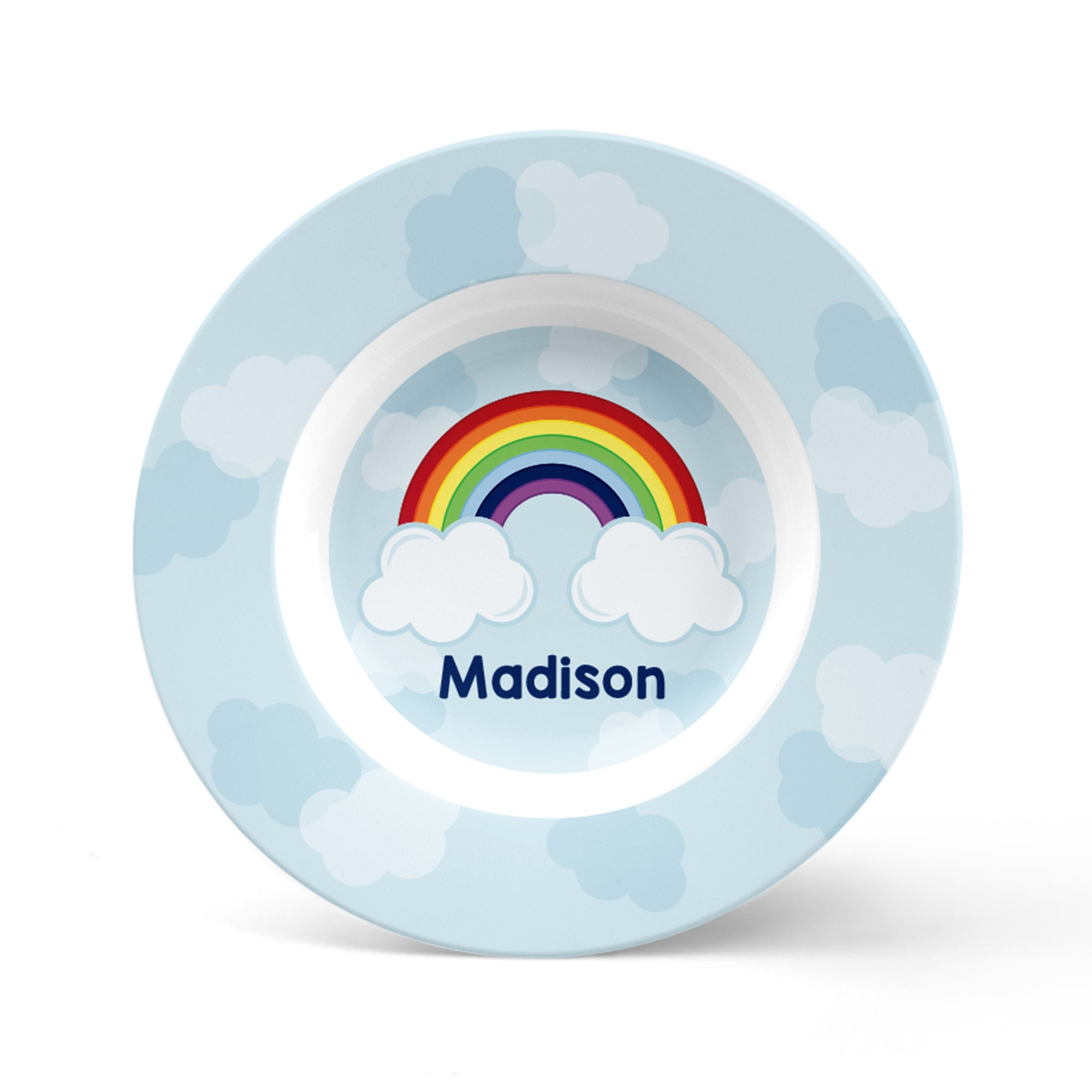 Rainbow Personalized Plate