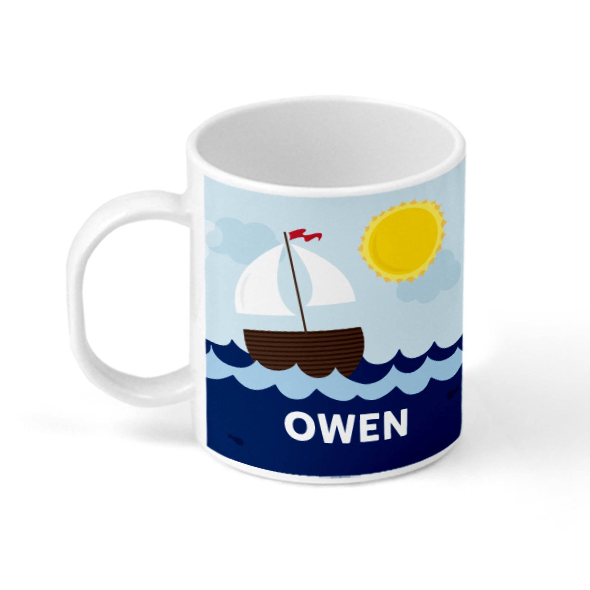 Sailboat Personalized Mug