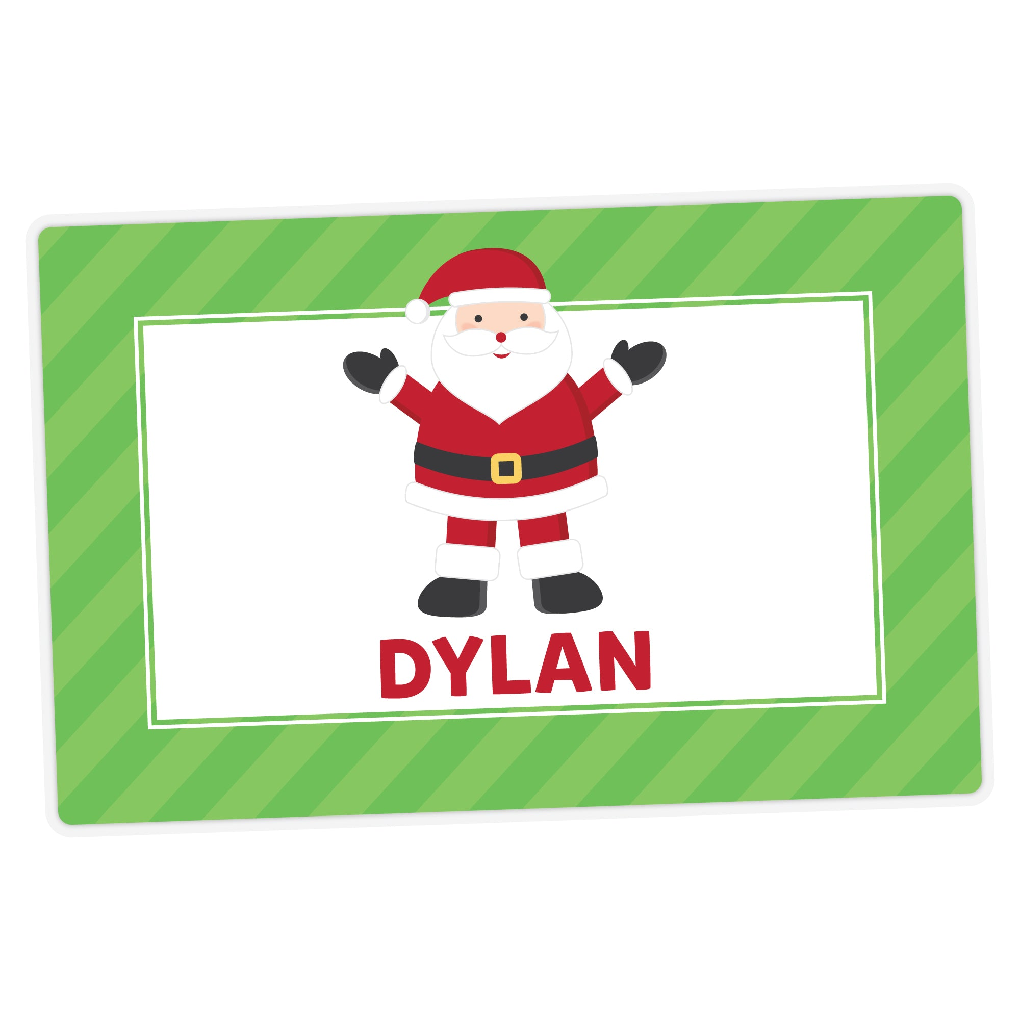Santa Personalized Placemat