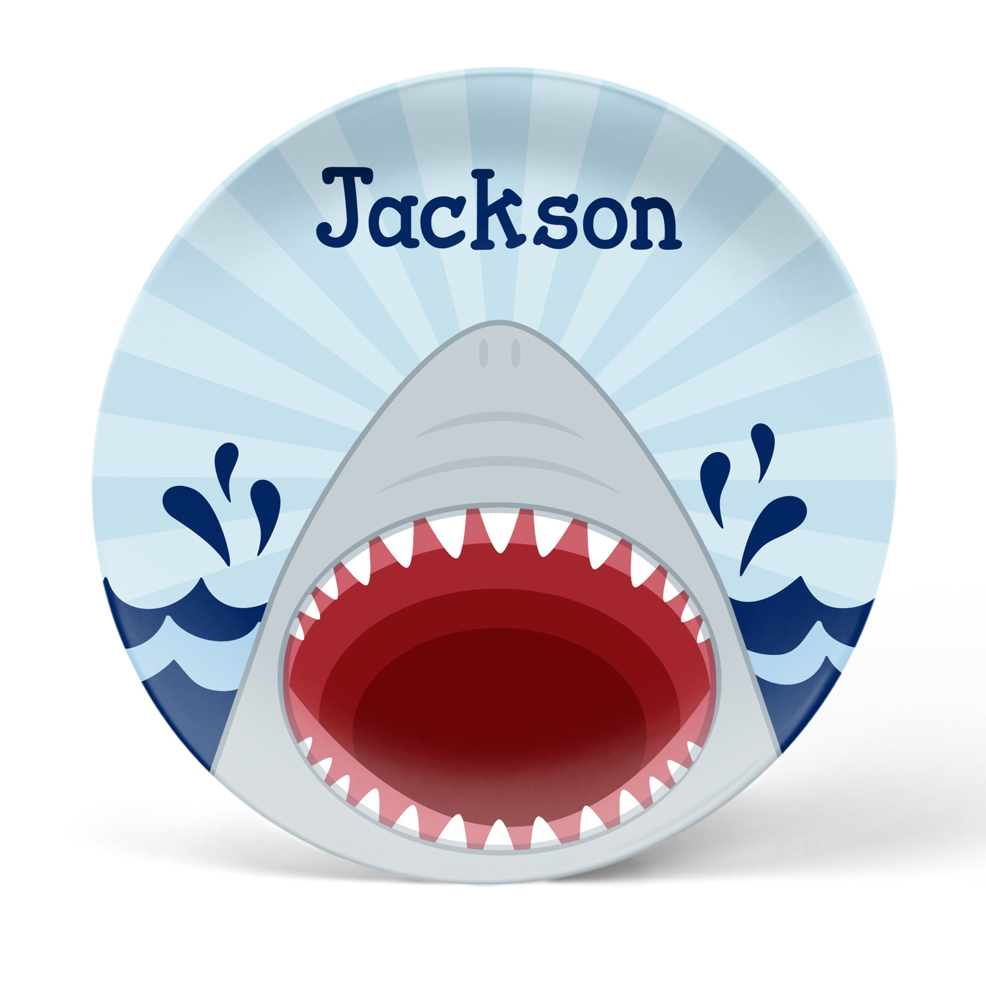 Shark Personalized Plate