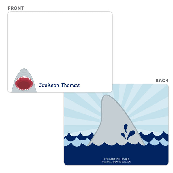 Shark Note Cards - Thank You Cards