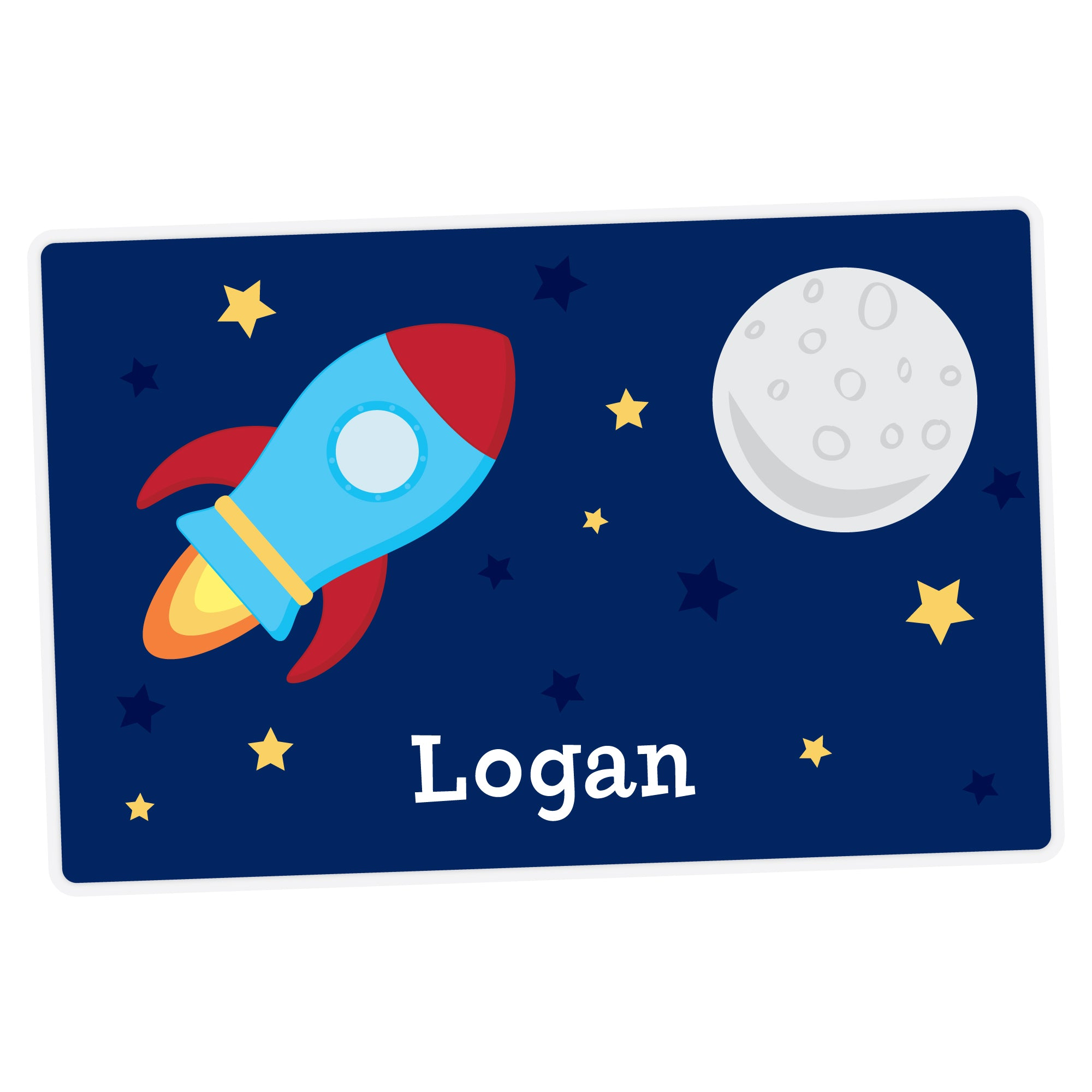 Spaceship Personalized Placemat