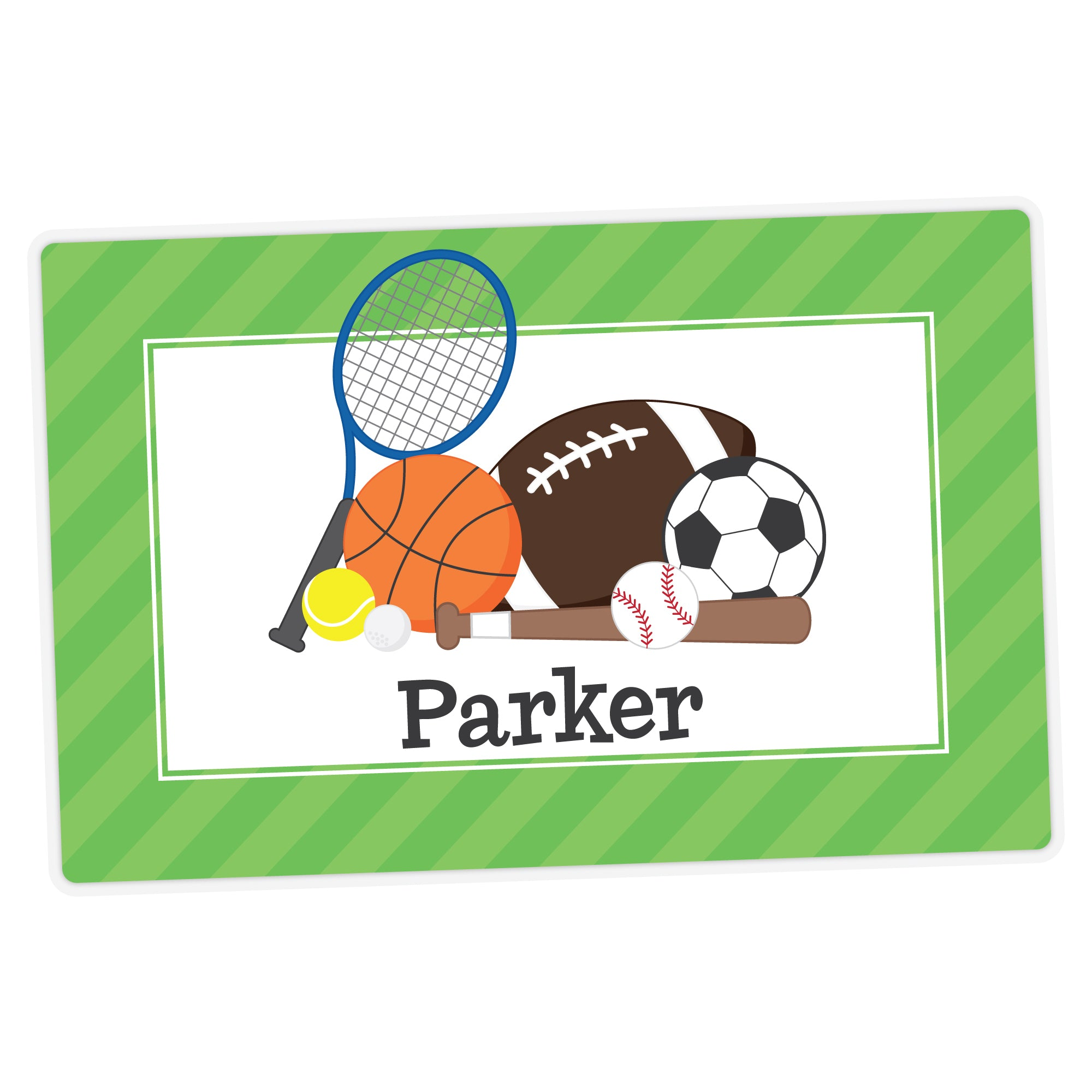Sports Personalized Placemat