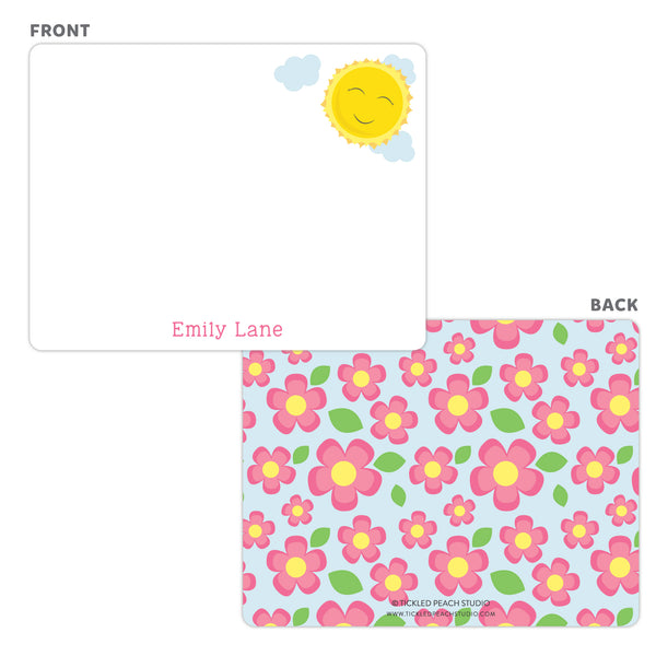 Sunshine Note Cards - Thank You Cards