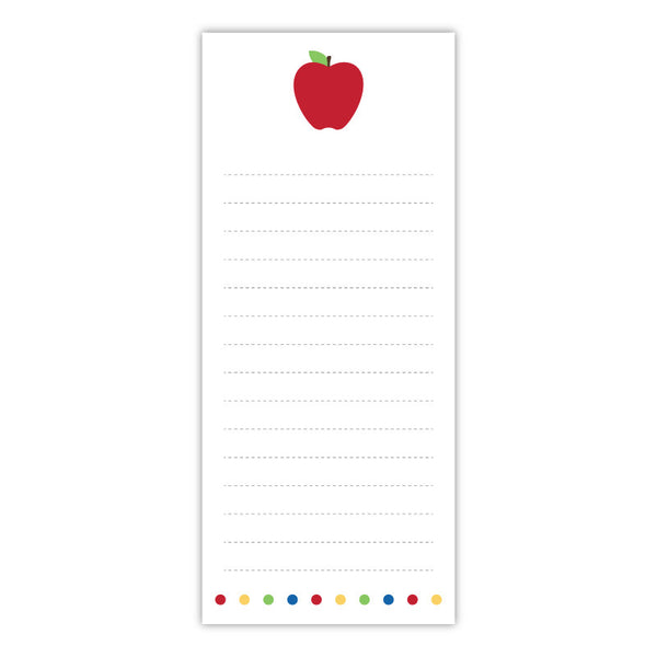Apple Teacher Notepad