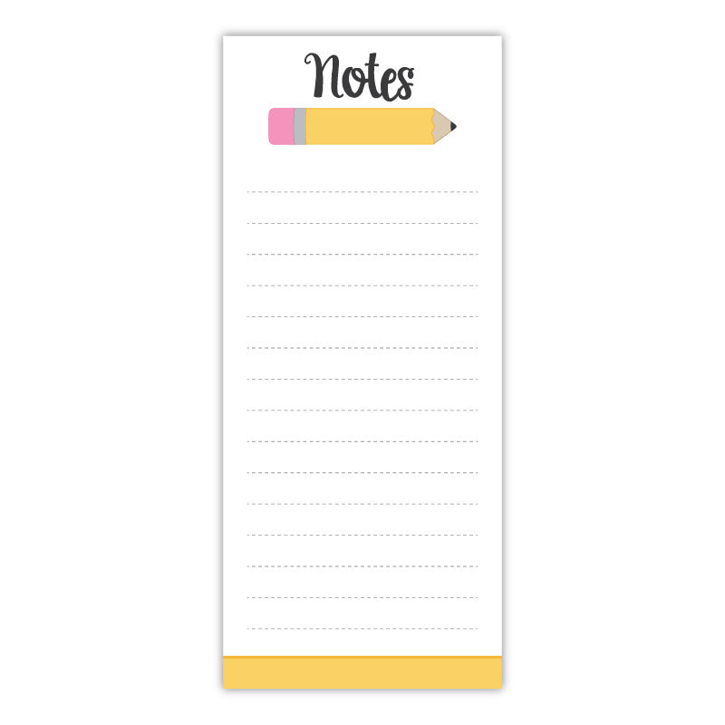 Pencil Teacher Notepad