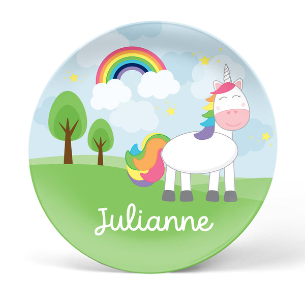 Unicorn Personalized Plate