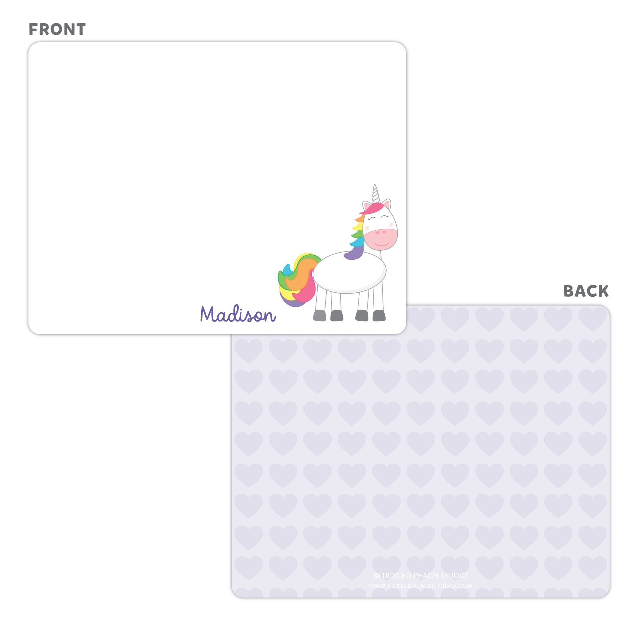 Unicorn Note Cards
