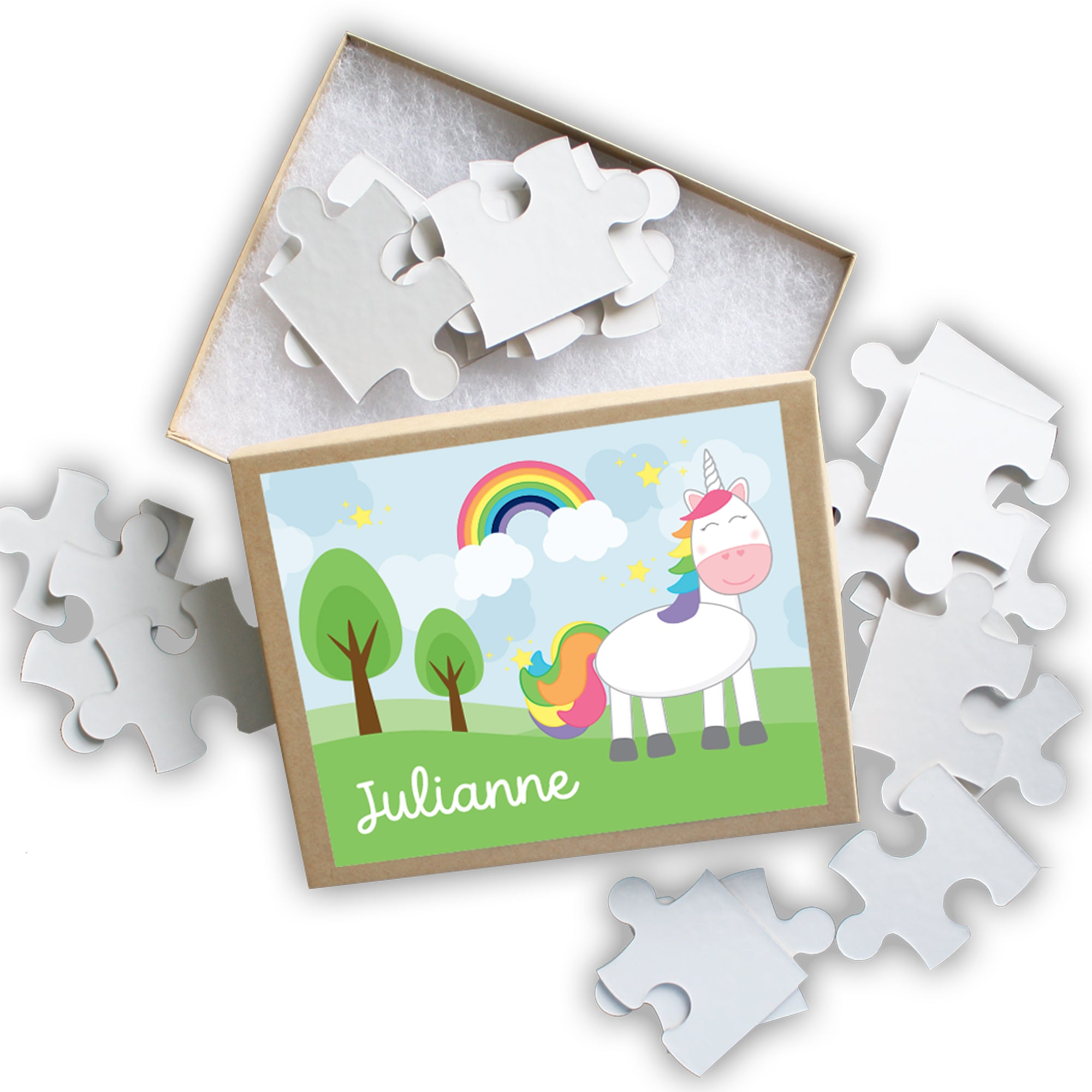 Unicorn Personalized Puzzle