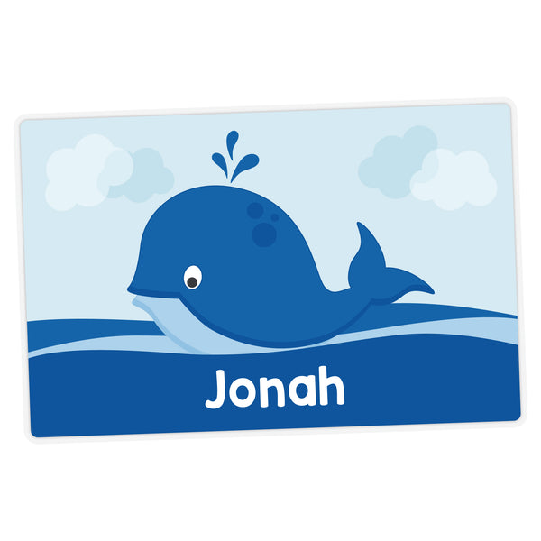 Whale Personalized Placemat