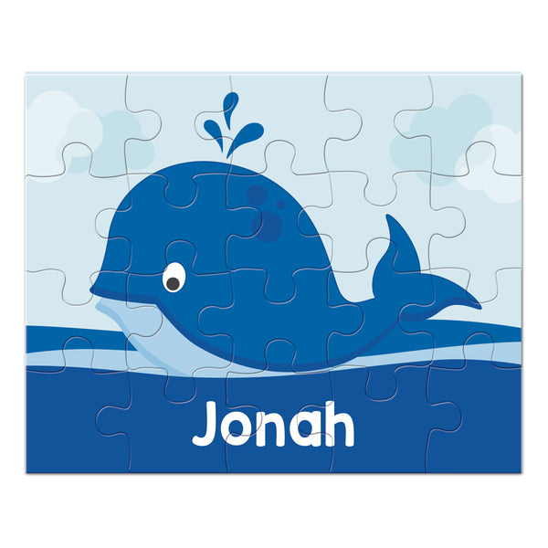 Whale Personalized Puzzle