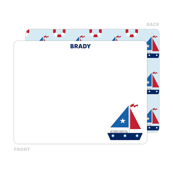 Yacht Note Cards