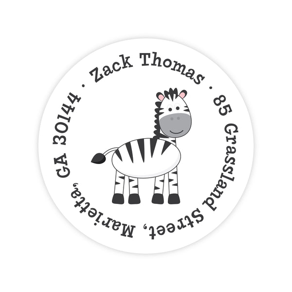 Zebra Address Labels