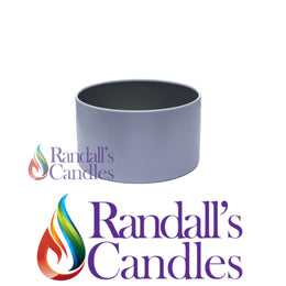 Small Candle Tin - Grey
