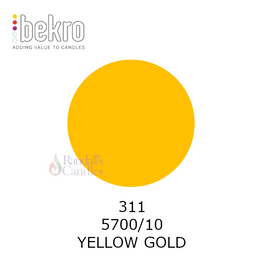 BEKRO DYE - YELLOW GOLD 10g