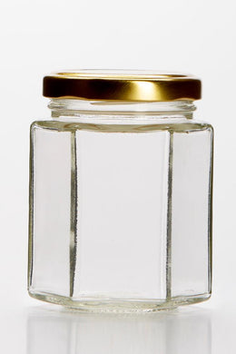 Hexagonal Candle Making Jar