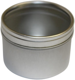 Small Round Candle Tin
