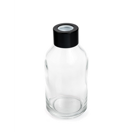 Boston Short Round Diffuser Bottle - Clear