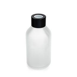 BOSTON SHORT ROUND DIFFUSER BOTTLE - FROSTED