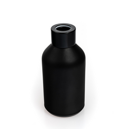 Boston Short Round Diffuser Bottle - Matt Black
