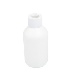 Boston Short Round Diffuser Bottle - Matt White