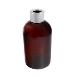 Boston Tall Round Diffuser Bottle - Amber
