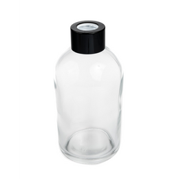 BOSTON TALL ROUND DIFFUSER BOTTLE - CLEAR