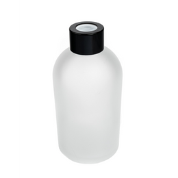 Boston Tall Round Diffuser Bottle - Frosted