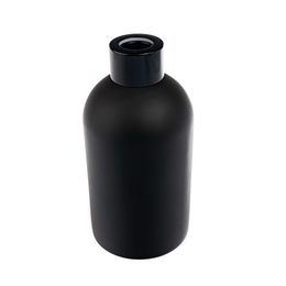 Boston Tall Round Diffuser Bottle - Matt Black