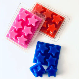 Star Cavity Clamshell Moulds